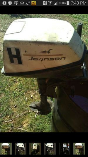Johnson 5 horsepower outboard runs good for Sale in Fredericksburg, VA