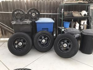 17 in pro comp wheels and tires for Sale in Riverside, CA