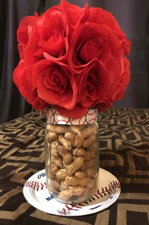 Baseball party decorations & Centerpiece for Sale in Santa Fe Springs, CA