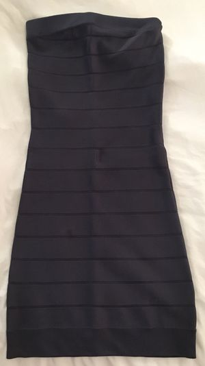 French Connection Dark Blue Strapless Bodycon Bandage Dress. Size 4 for Sale in Las Vegas, NV