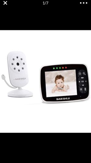 """Baby Monitor, Video Baby Monitor 3.5"""" Large LCD Screen, Baby Monitors with Camera and Audio Night Vision,Support Multi Camera,ECO Mode,Two Way Talk T for Sale in Hacienda Heights, CA"""