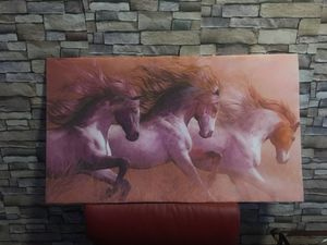 Charming Wall Picture of Running Horses. for Sale in Fremont, CA