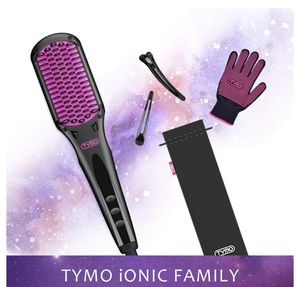 TYMO Hair Straightener Brush - Enhanced Ionic Straightening Brush with 16 Heat for Sale in El Monte, CA