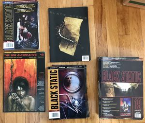 Large Collection of Black Static Magazines for Sale in Cambridge, MA