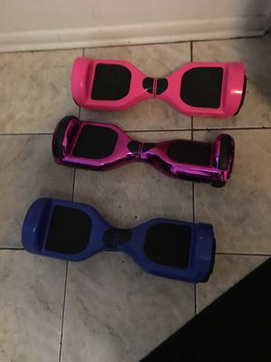 3 hoverboards for Sale in Tampa, FL