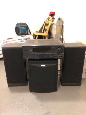 Polk Speakers and Onkyo Receiver for Sale in San Francisco, CA
