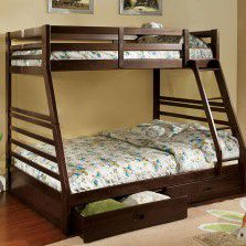 Brand new twin/full bunk bed with Mattresses, drawers Included for Sale in Spring Valley, CA
