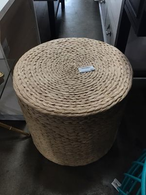 ⚠️ON SALE⚠️ Natural Storage Ottoman for Sale in Houston, TX