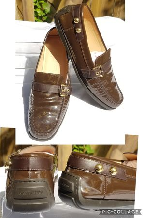 Auth Louis Vuitton unisex slip on Loafers shoes for Sale in Arlington, TX