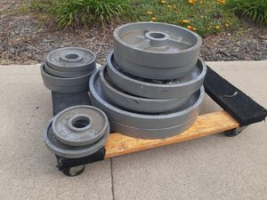 Set of Weights W Bar for Sale in Beverly Hills, CA