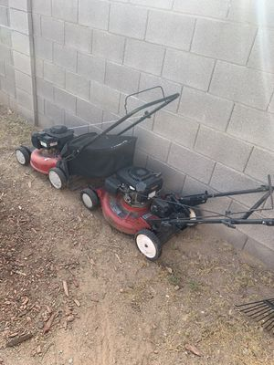 2 lawnmowers for Sale in Queen Creek, AZ