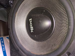 Polk Audio 12' Speakers with Box USED for Sale in Chicago, IL