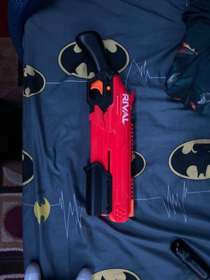 Nerf gun rival take down looking for a trade for Sale in Whitehall, OH