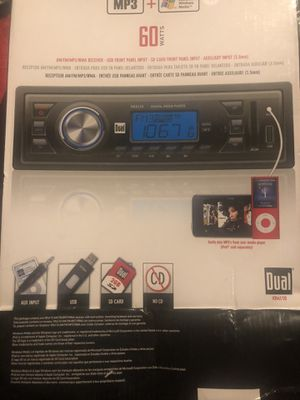 DUAL CAR RADIO for Sale in Southbridge, MA