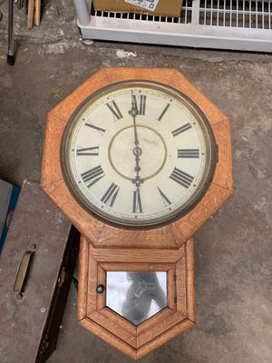 Antique Waterbury Wall Clock for Sale in Western Springs, IL