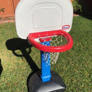Adjustable height basketball hoop for Sale in San Diego, CA