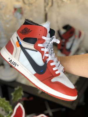 Nike Jordan Chicago Off-white for Sale in Dallas, TX