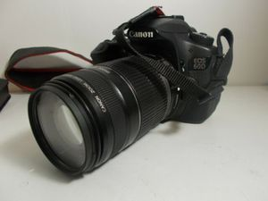 Canon - EOS 60D Rebel DSLR Camera with EF-S 18-55mm IS STM Lens - Black for Sale in Kissimmee, FL