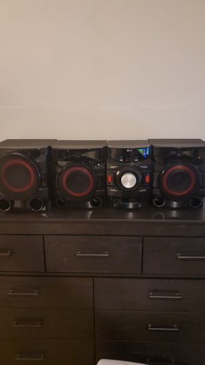 LG CM4550 Bluetooth Speaker Set for Sale in Woodbridge, VA