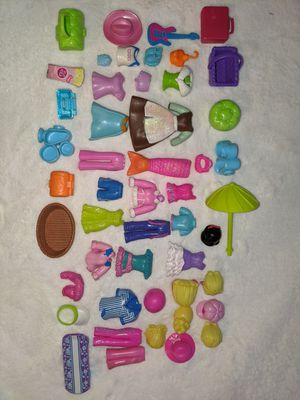 Polly pocket doll clothes and accessories for Sale in Tacoma, WA
