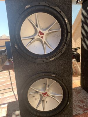"""12"""" inch kicker cvr subwoofer with dual 4-ohm voice for Sale in Menifee, CA"""