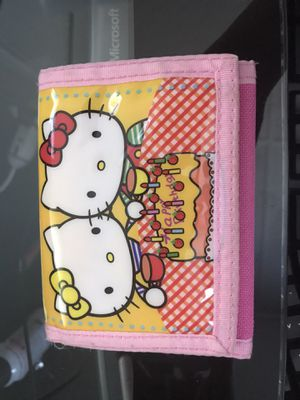 Official Sanrio Hello Kitty Wallet for Sale in Lubbock, TX