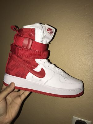 nike special field air force 1's university red for Sale in San Antonio, TX