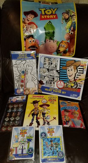 Toy Story 4 Activity Bundle for Sale in Brooklyn, NY
