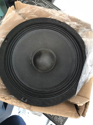 """6"""" Carvin Professional Audio replacement speaker for Home or DJ for Sale in Visalia, CA"""