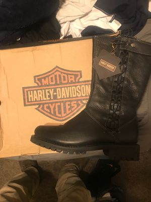 Harley Davidson Women's riding Boots size 7 (New) for Sale in Hiram, GA