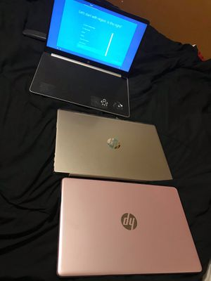 2 Hp laptop and a Asus Chromebook for Sale in Bessemer, AL