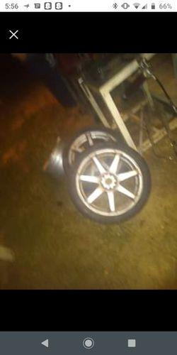 Final speed s7s 5 lug universal 18 inch rims for Sale in Greenville,  AL
