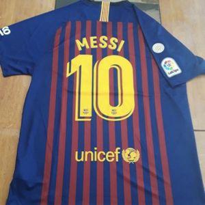 Barcelona jersey XL for Sale in Glendale, AZ