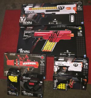 Nerf rival guns for Sale in West Valley City, UT