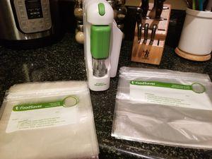 FoodSaver Meal Saver Vacuum pump & bags for Sale in Moreno Valley, CA