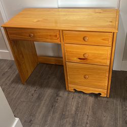 Solid Wood Desk for Sale in Edgewood,  WA