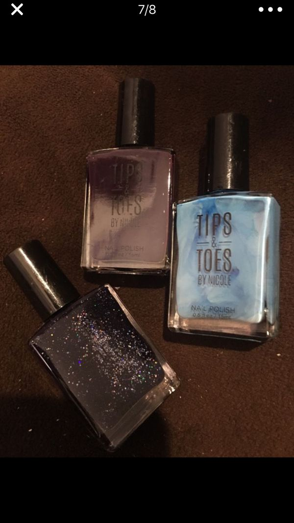 Nail polishes 1$ each