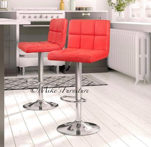 Brand new 2 red bar stools ( shipping is available) for Sale in Orlando, FL