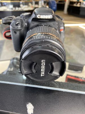 Canon Digital Camera w/Tamron 18-270mm lens for Sale in Raleigh, NC