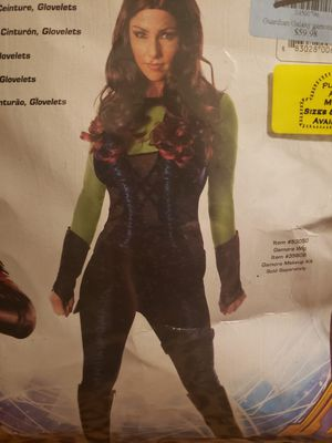 GAMORA COSTUME SMALL / DISFRAS DE GAMORA CHICO for Sale in Phoenix, AZ