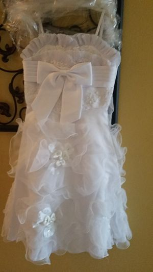 White dress , flower girl dress for Sale in San Diego, CA