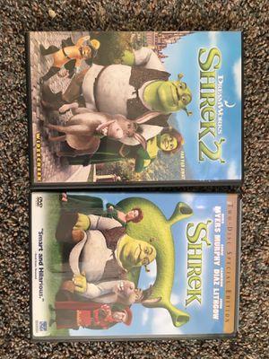 3 Shrek DVDs for Sale in Oceanside, CA