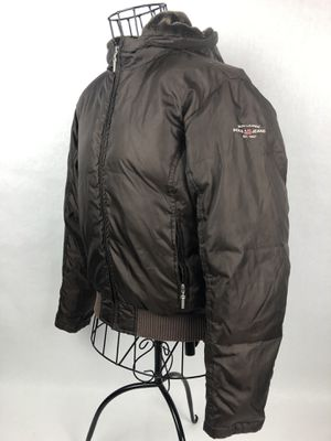 Ralph Lauren Polo Sport Brown Puff Jacket Hoodie Coat Snow WInter Womens Small for Sale in Orlando, FL