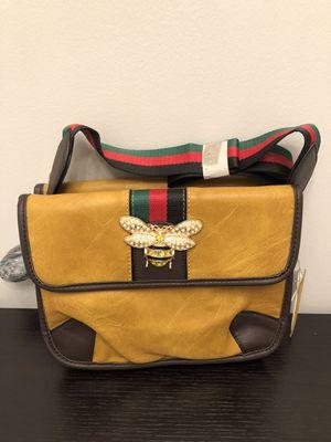 Mustard messenger bag for Sale in Orange Park, FL
