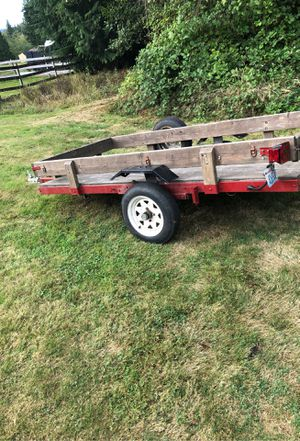 4x8 Utility trailer for Sale in Snohomish, WA