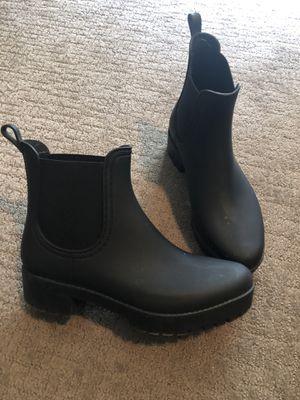 Black rain boots size 9 for Sale in Littleton, CO