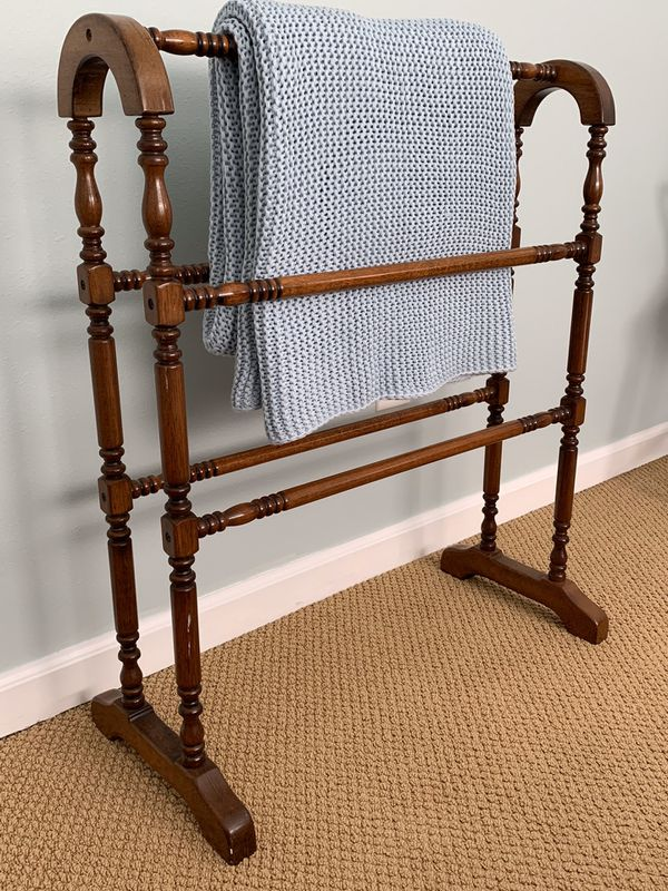 Antique Quilt Rack for blankets or towels