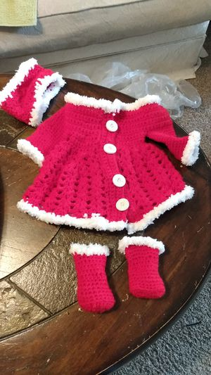 American girl doll Christmas 3 piece set for Sale in Oshkosh, WI