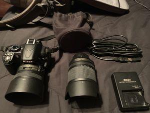 Nikon D3100 DSLR with lenses! for Sale in Menifee, CA