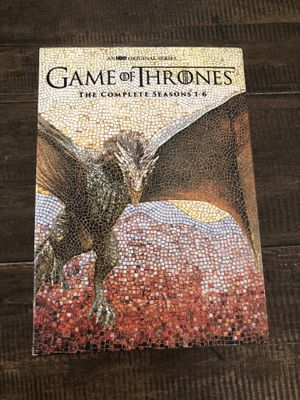 Game of Thrones Seasons 1-6 DVD box set for Sale in Mesa, AZ